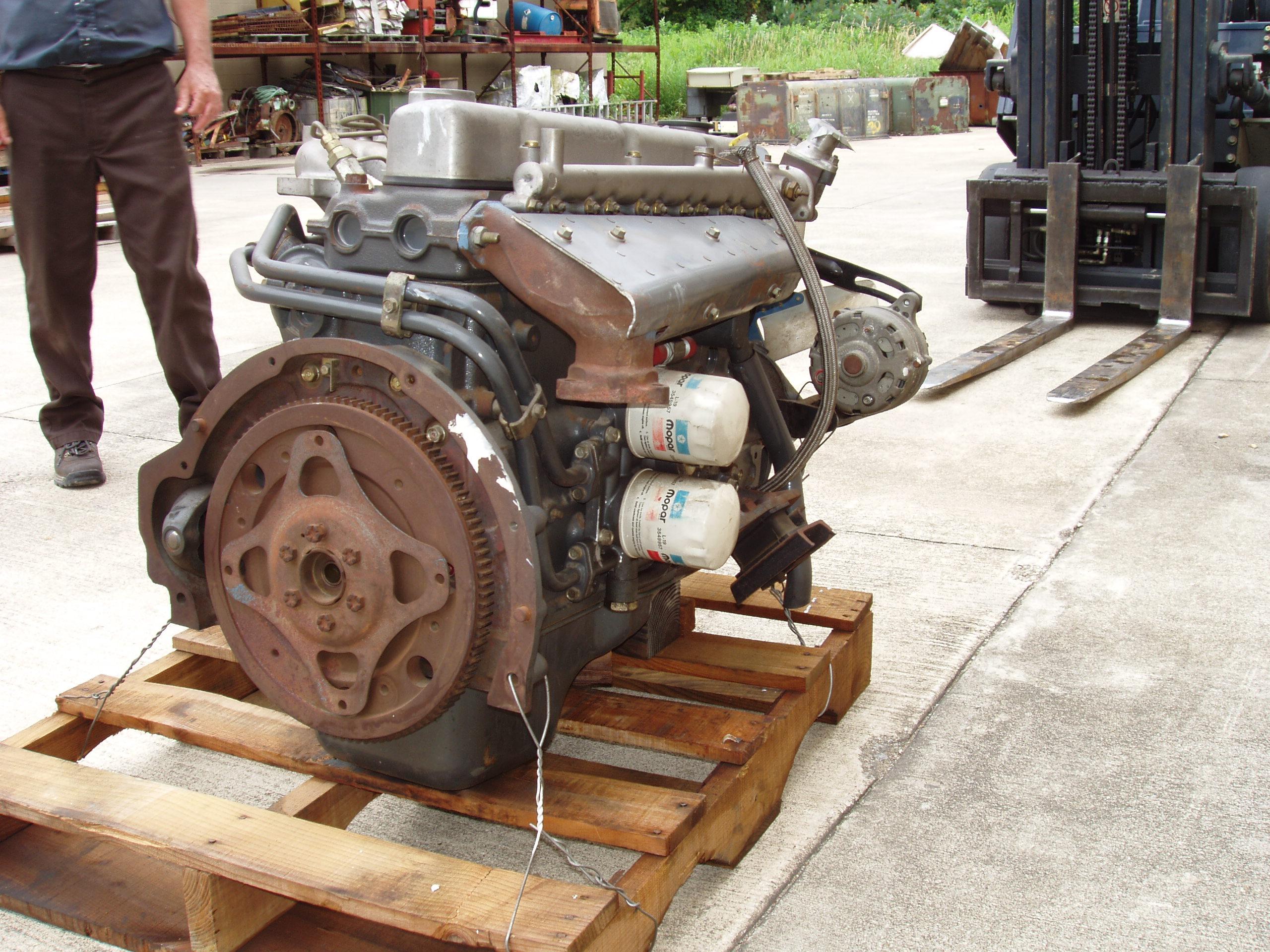 6DR diesel Mitsubishi