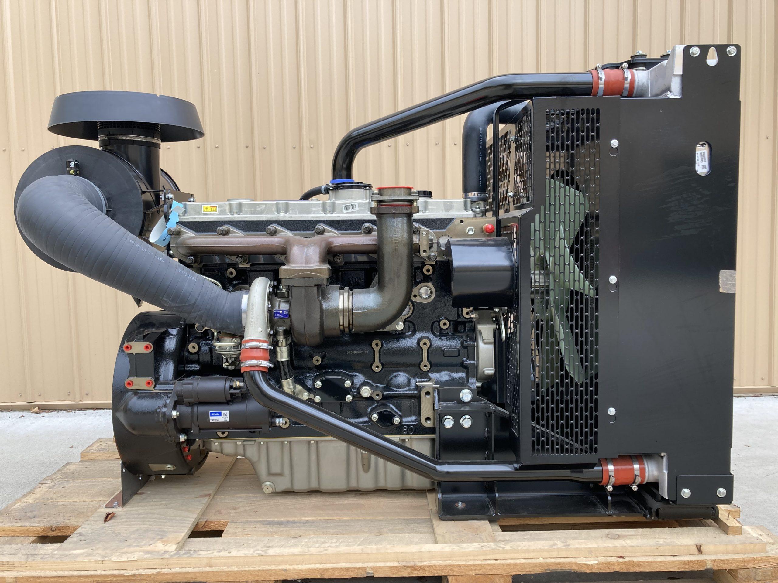 2015 Perkins 1106A-70TA Complete Turbo Diesel Power Unit